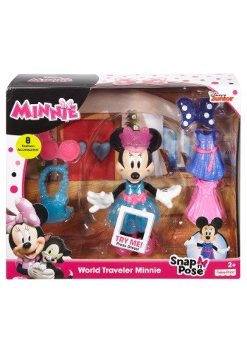 Minnie Mouse World Traveler Doll