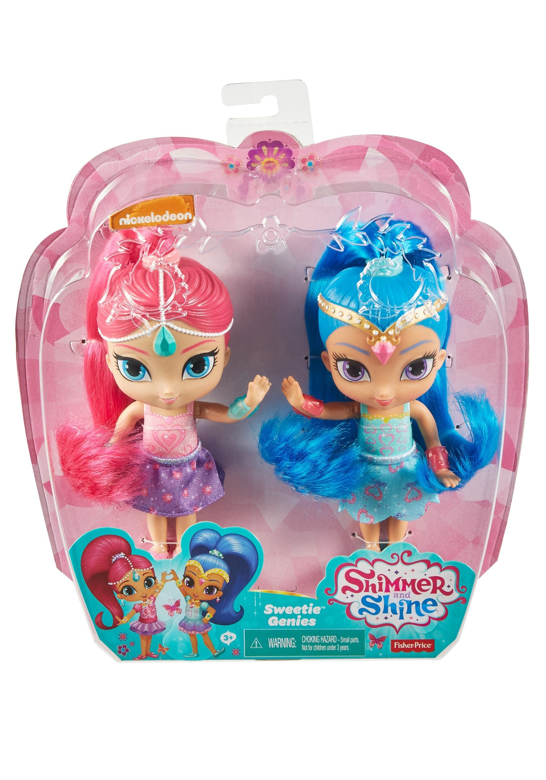 003ef28deb Set of 2 Shimmer   Shine Sweetie Genies