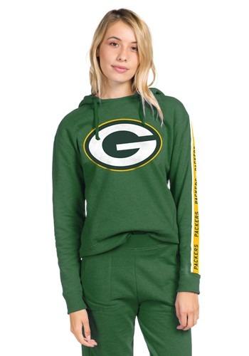 Women's Green Bay Packers Hunter Green Fleece Hoodie update
