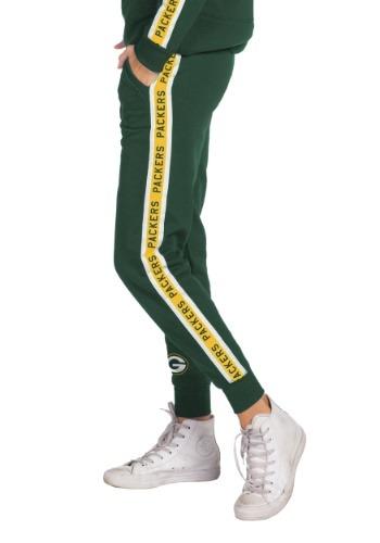 Women's Hunter Green Green Bay Packers Fleece Joggers