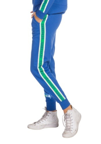 Women's Blue Seattle Seahawks Fleece Joggers