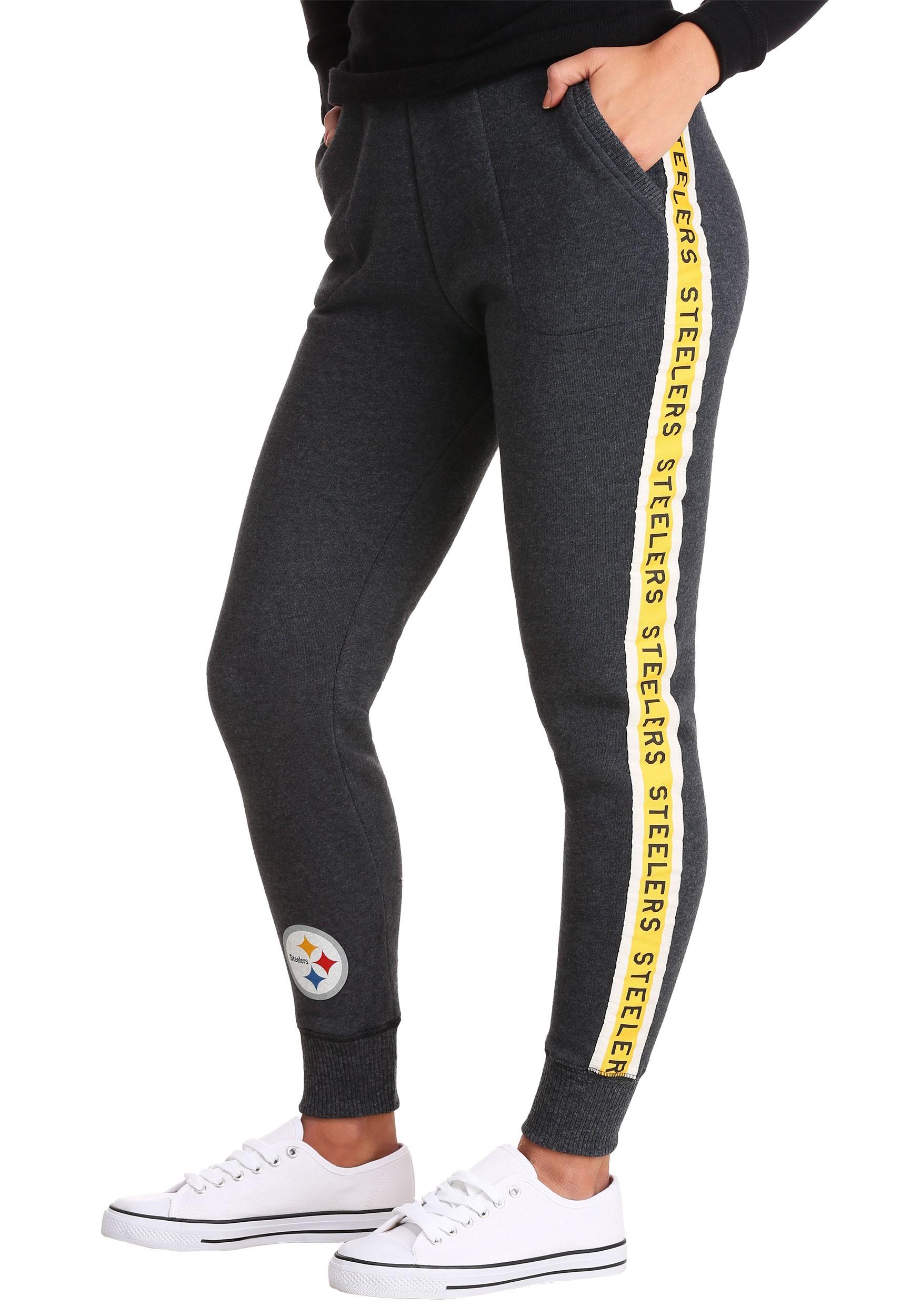 a77346275 Women s Pittsburgh Steelers Fleece Joggers update1