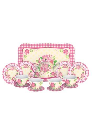 Fancy Tin Tea Set