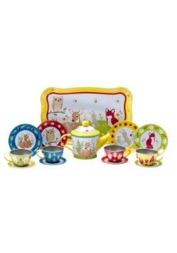 Forest Friends Tea Time Set