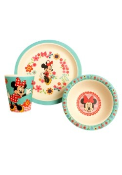 Disney Minnie Flowers 3pc Bamboo Set