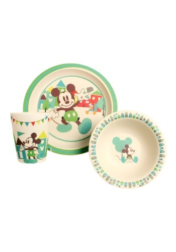 Disney Mickey Celebrations 3pc Bamboo Set