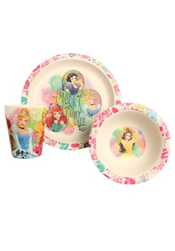 Disney Princess Dreams Come True 3pc Bamboo Set