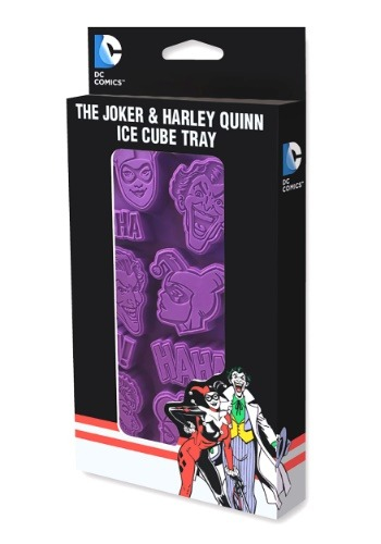 Joker and Harley Quinn Ice Cube Tray