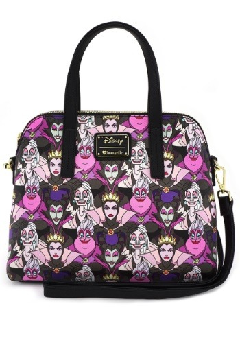 Loungefly Disney Villains Faux Leather Handbag