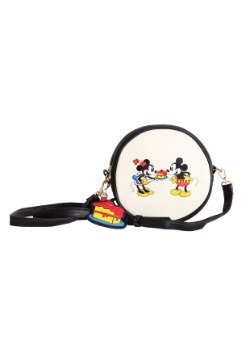 Loungefly Mickey's 90th Birthday Faux Leather Cross Body