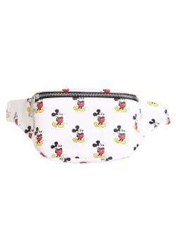 Loungefly All Over Mickey Mouse Print Faux Leather Fanny Pac