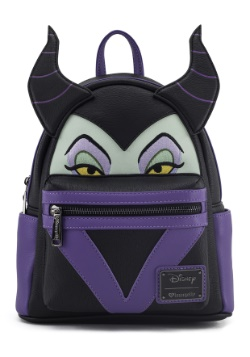 Loungefly Malificent Faux Leather Mini Backpack