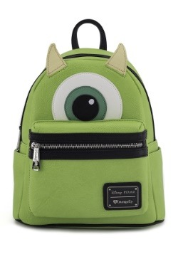 Loungefly Mike Wazowski Faux Leather Mini Backpack