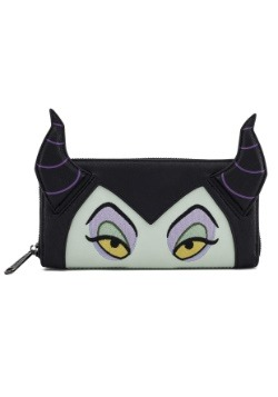 Loungefly Malificent Faux Leather Zip Around Wallet