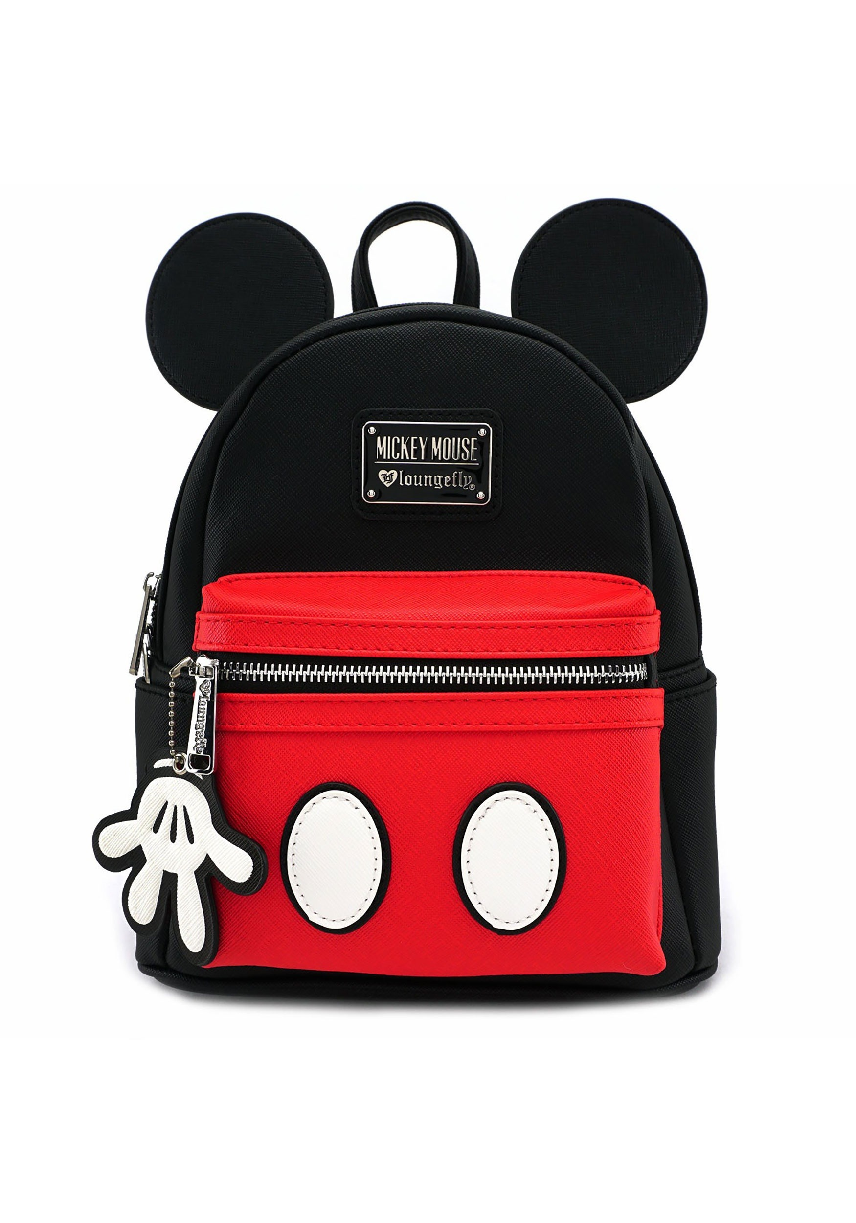 7e950b0b8e52 Loungefly Mickey Mouse Faux Leather Mini Backpack