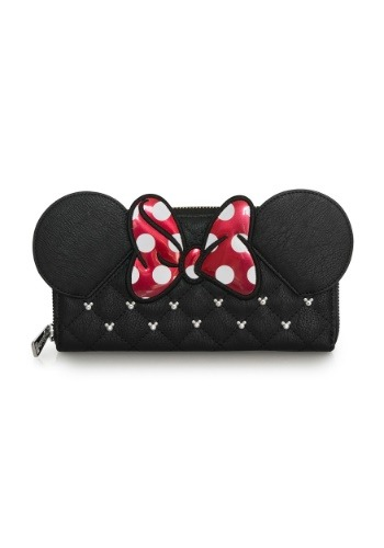 Loungefly Minnie Mouse Quilted Faux Leather Wallet