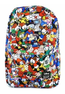 Loungefly Duck Tales All Over Print Backpack