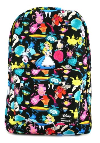 Alice in Wonderland All Over Print Backpack