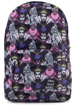 Loungefly Disney Villains All Over Print Backpack
