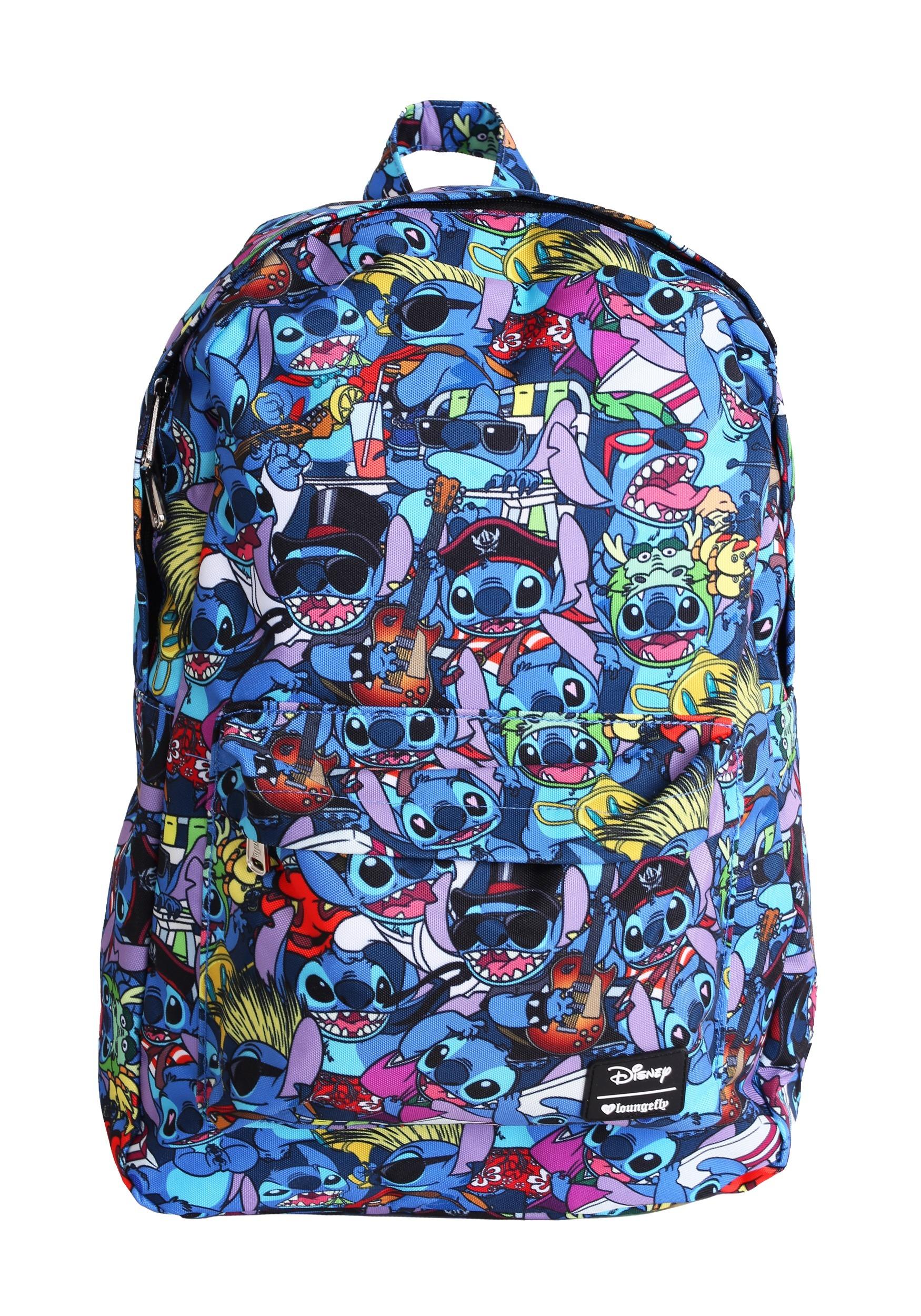 905e83a0b0e Lilo   Stitch All Over Print Loungefly Backpack