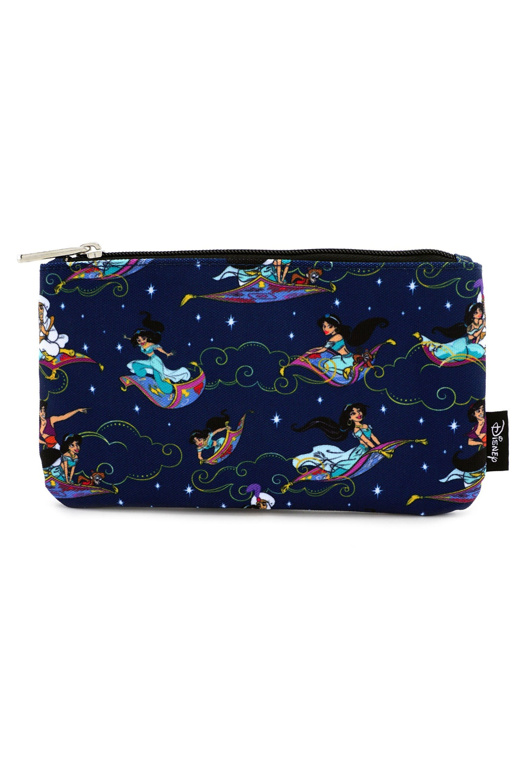 Loungefly Aladdin Magic Carpet Ride Print Coin Cosmetic Bag