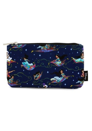 Loungefly Aladdin Magic Carpet Ride Print Coin/Cosmetic Bag