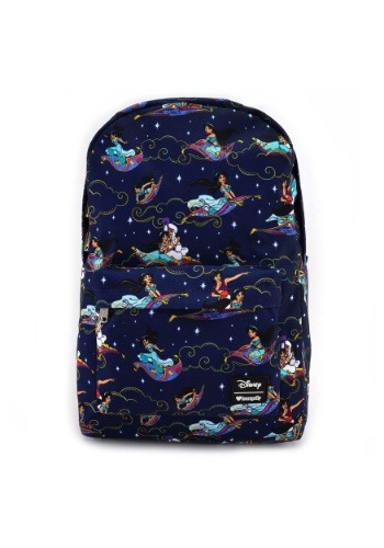 Loungefly Aladdin Magic Carpet Ride Print Backpack