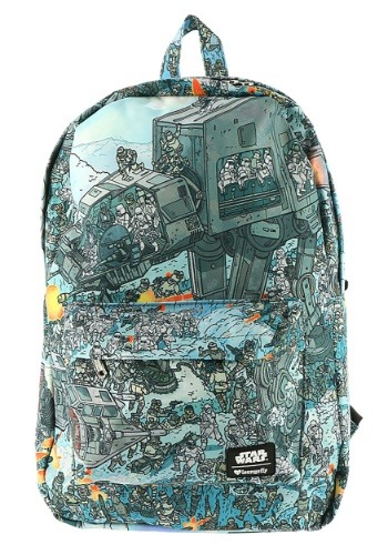Star Wars Empire Strikes Back Hoth Battle Loungefly Backpack