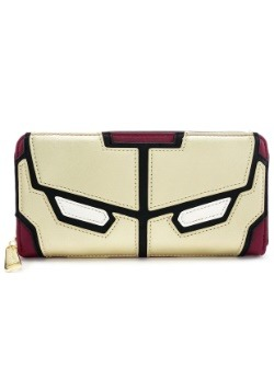 Loungefly Iron Man Faux Leather Zip Around Wallet
