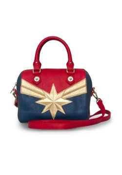 Loungefly Captain Marvel Faux Leather Handbag