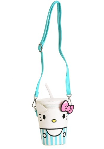 Loungefly Hello Kitty Milkshake Faux Leather Crossbody Bag