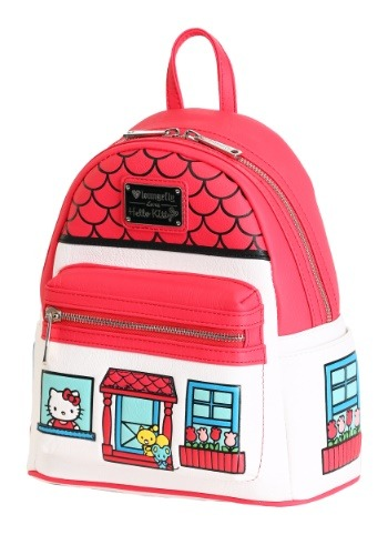 Loungefly Hello Kitty Faux Leather Mini Backpack
