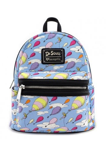 Loungefly Dr. Suess Oh The Place You Will Go Backpack