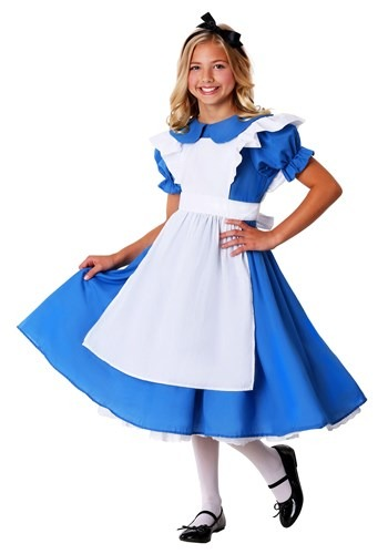 Kids Deluxe Girls Alice Costume