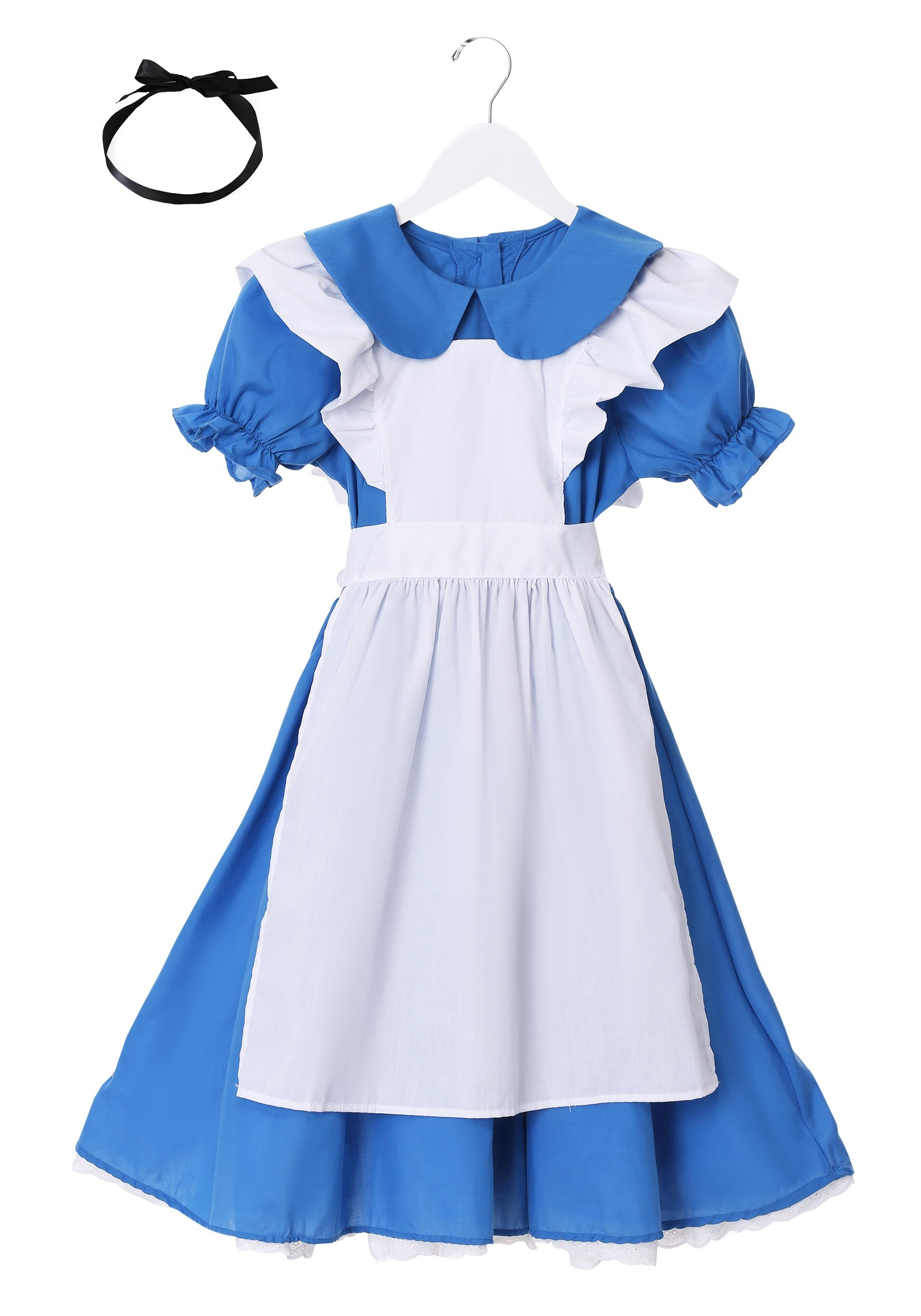 6-8 ANNI tradizionale ALICE Childrens DRESS UP costume da Fun Shack