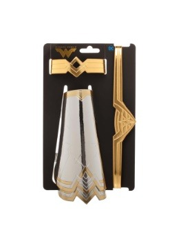 Wonder Woman Faux Leather Cuff & Gauntlets Cosplay Set