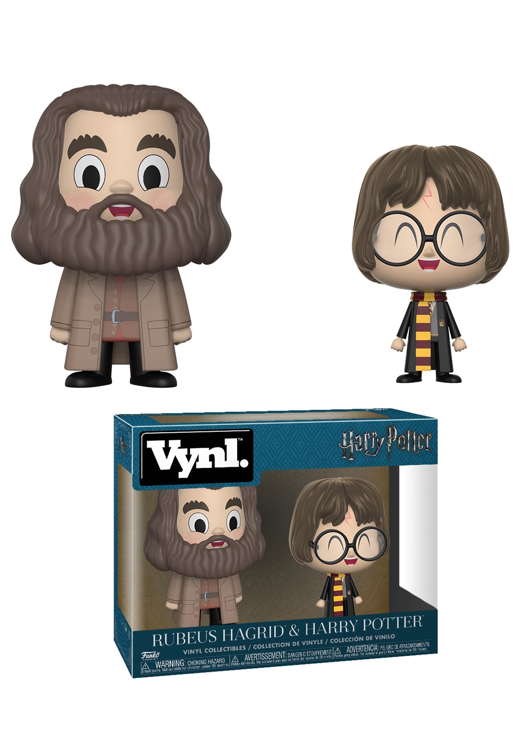 Vnyl: Harry Potter: Rubeus Hagrid & Harry Potter Figures FN26524
