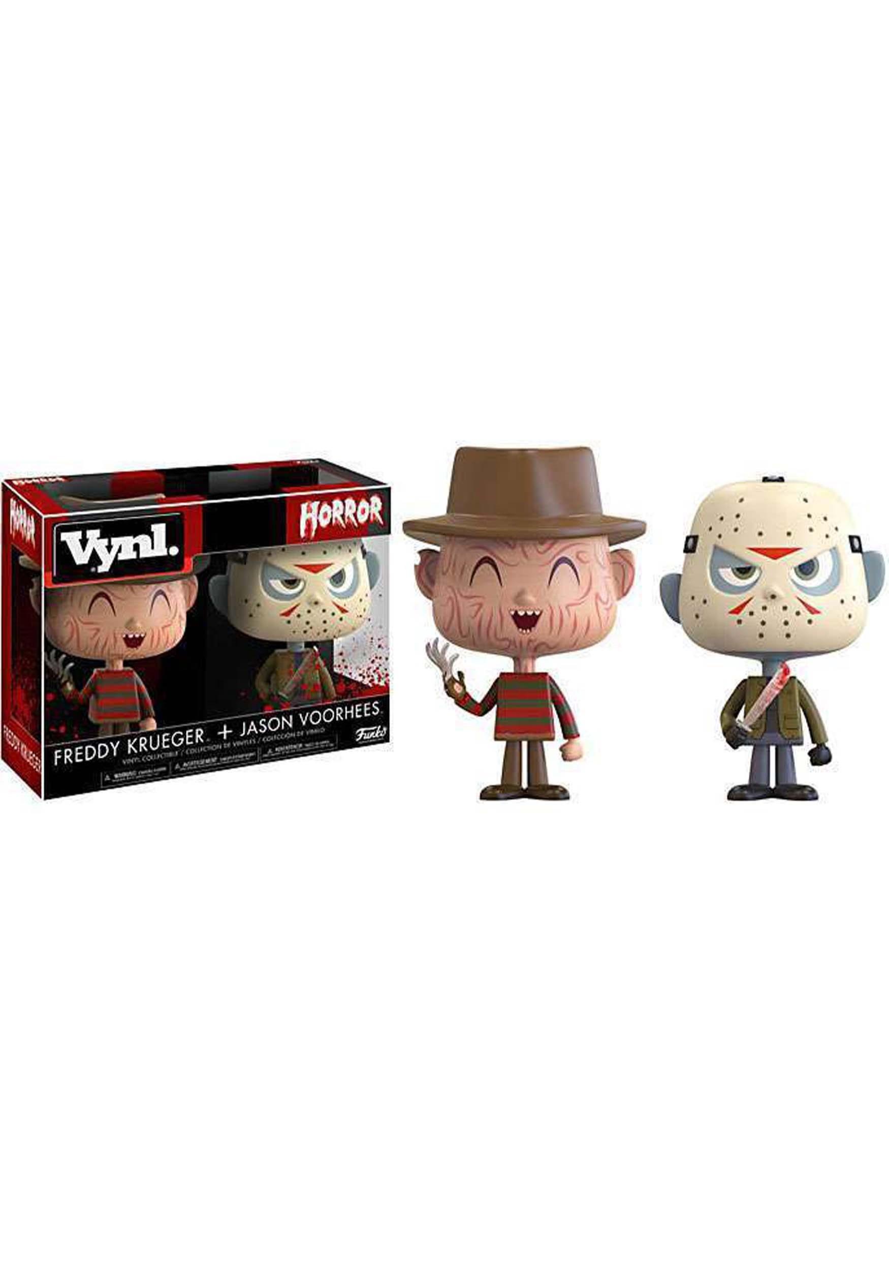 Vynl Horror: Jason Voorhees & Freddy Krueger Vinyl Figures FN20911