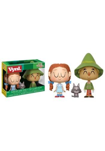 Vynl: Wizard of Oz: Dorothy, Toto & Scarecrow Vinyl Figures