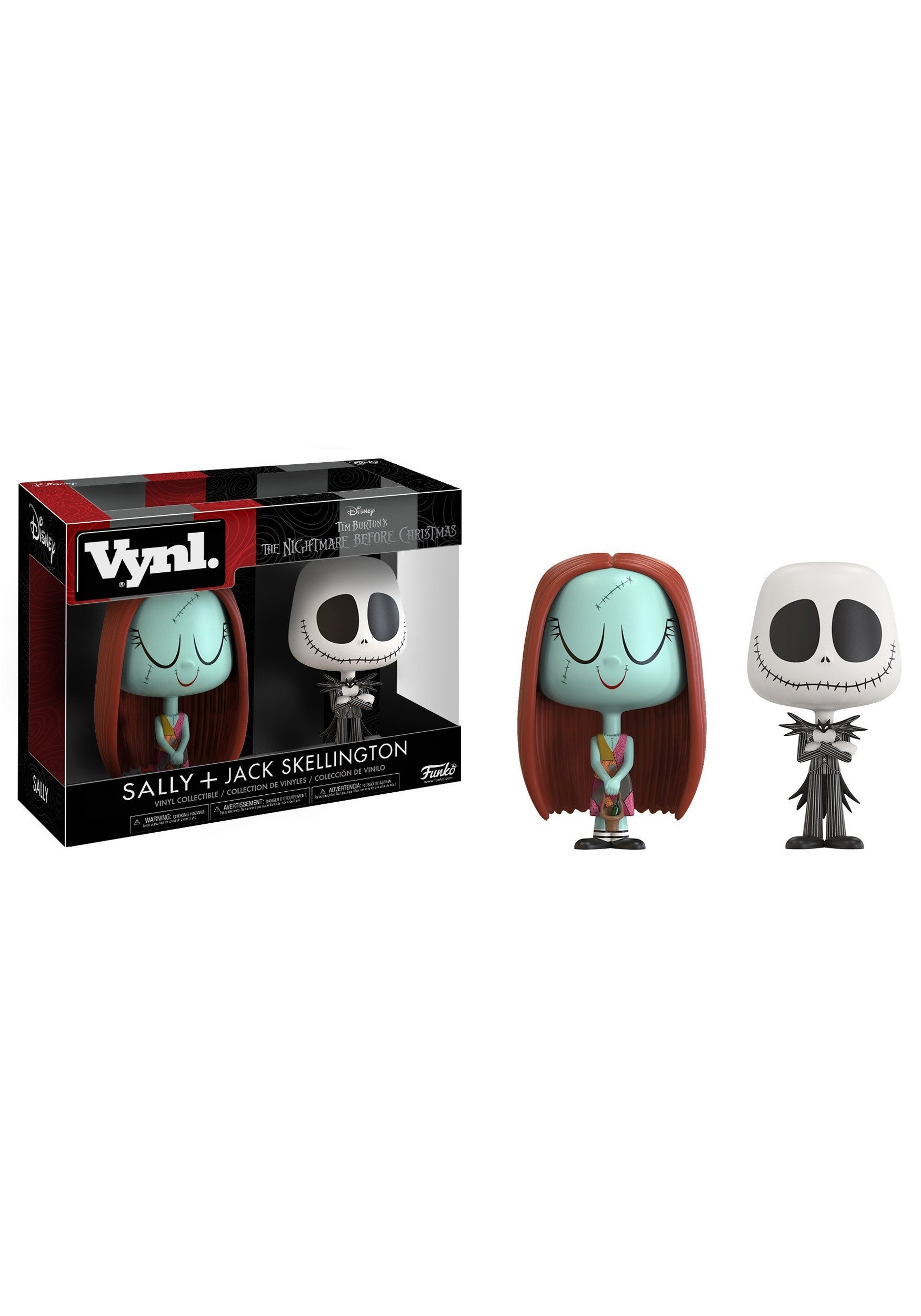 Vynl: Nightmare Before Christmas: Sally & Jack Vinyl Figures