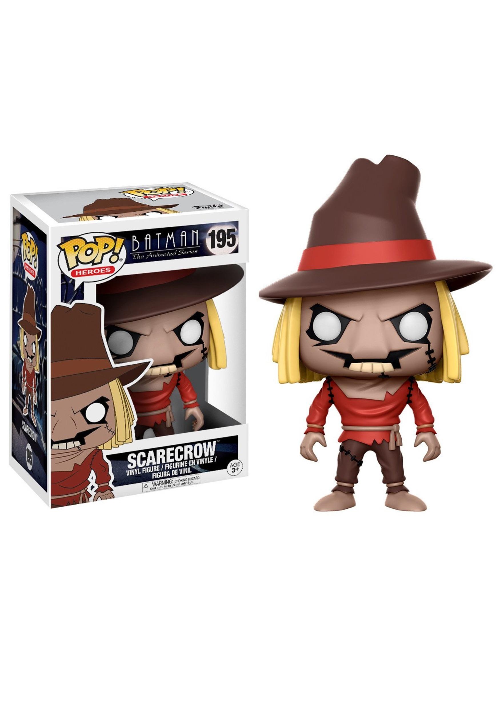 NUOVO Ufficiale FUNKO POP HEROES BATMAN Scarecrow Figura in vinile #195