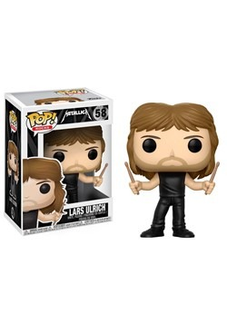 POP! Music: Metallica - Lars Ulrich Vinyl Figure 1