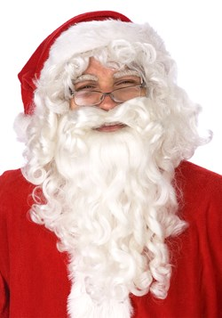 White Santa Wig and Beard Set
