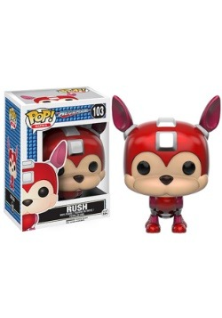 POP! Games: Mega Man - Rush Vinyl Figure