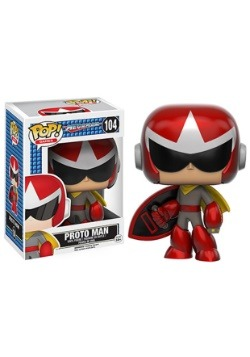 POP! Games: Mega Man - Proto Man Vinyl Figure