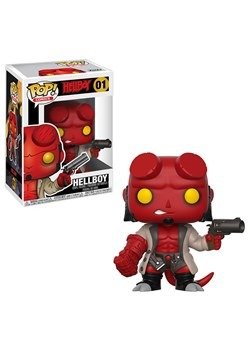 POP Comics: Hellboy- Hellboy w/Jacket w/ Chase1
