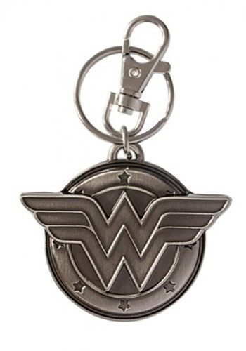 Pewter Wonder Woman Keychain MII45084