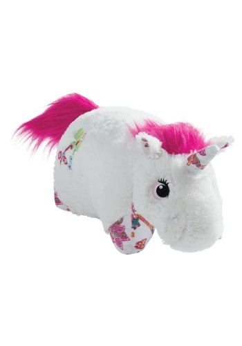 White Unicorn Pillow Pet