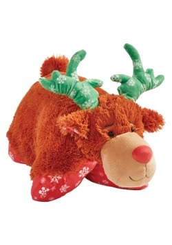 Holiday Reindeer Pillow Pet
