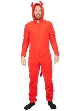 Devil Red Union Suit